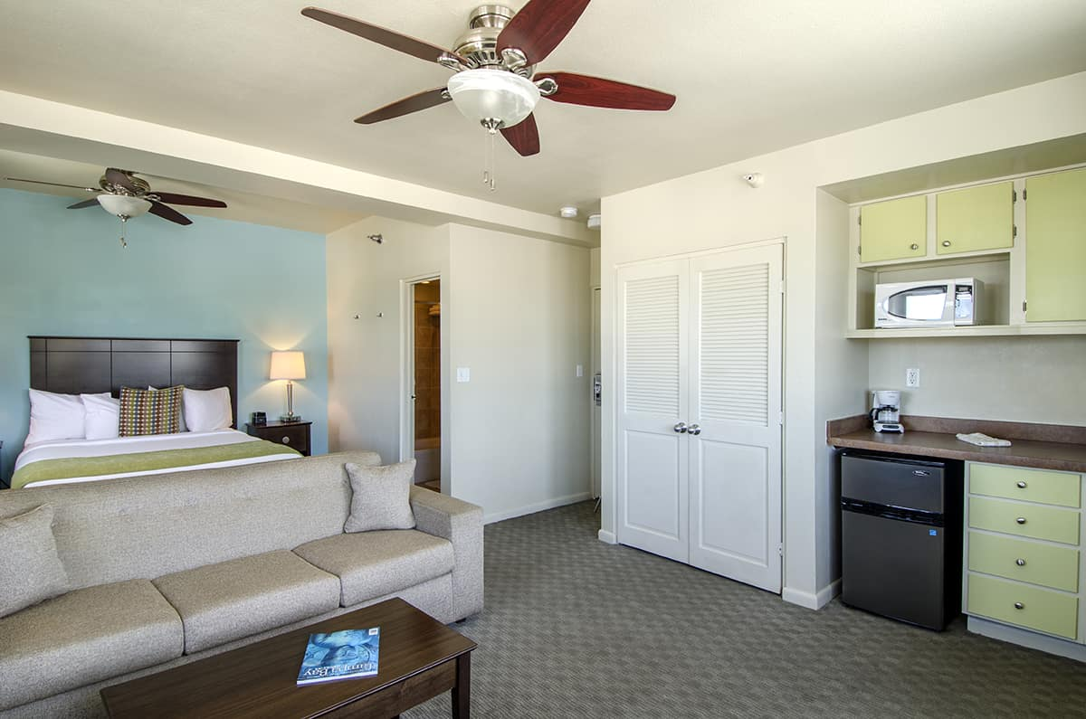 Another View of the Inn's Premium Efficiency